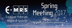 2017 E-MRS Spring Meeting